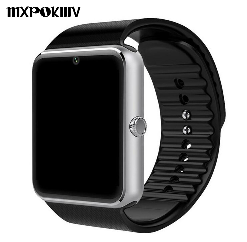 Smart Watch GT08 Clock Support TF Card And Sim Card Wearable Bluetooth Watch for Android Phone Smartwatch Watch GT08 VS DZ09 U8 smart watch gt08 green