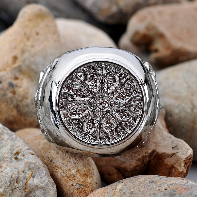 Helm Of Awe Aegishjalmur Viking Ring Bestseries Shop