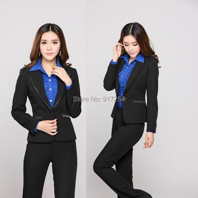 2015 autumn winter plus size 4xl professional uniform design