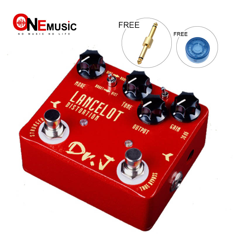 Dr J LANCELOT Analog screaming distortion Electric Guitar Effect Pedal efeito True Bypass D 59 with