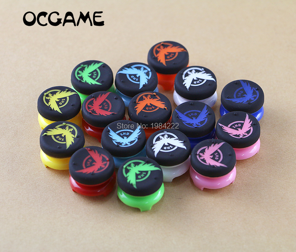 OCGAME Analog Extenders  Joystick Cap Grips For Playstation 4 For PS4 Joystick For PS3 For Xbox360 Controller 2pcs/lot