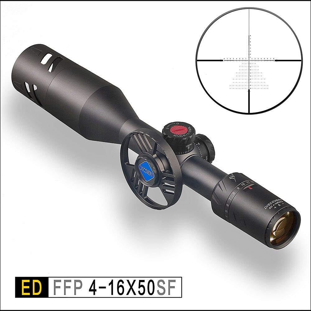 Discovery scope ED 4-16x50 SF optical sight Hunting Rifle Scope collimator tactical  luneta para rifle