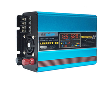 цена на 1000 w12v household solar charger inverter machine converter 20 a solar power supply system accessories
