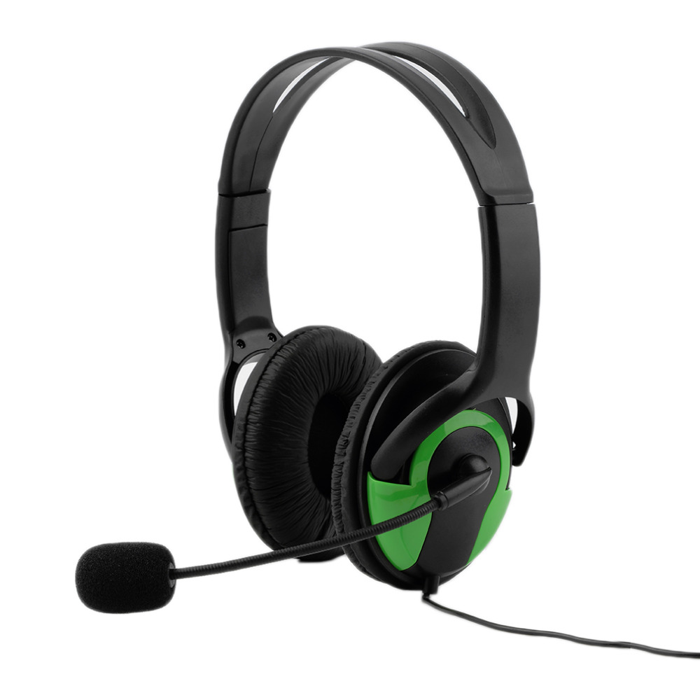 Hot 3.5mm Audio Wired gaming Headset Headphone Earphone Steoro Microphone for PlayStation 4 PS4 Gaming PC Chat For iPad/Mp3/4