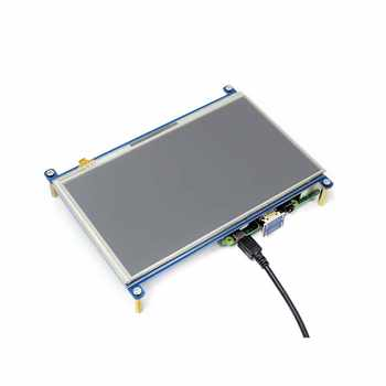 7inch HDMI LCD 1024 * 600 Resistive Touch Screen LCD Display