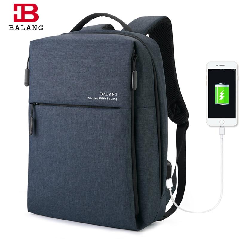 BALANG Brand 2019 New Backpack for 15 6 Inch Laptop Men Fashion Shoulder Bag Unisex Water