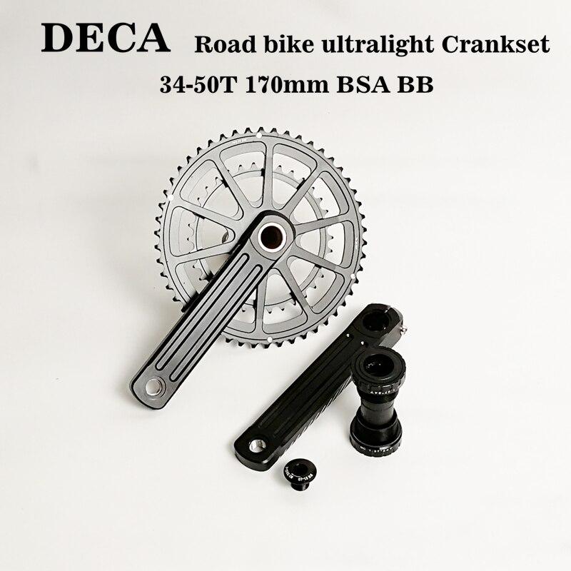 DECA vélo de route R3 Compact Pédalier-50x34 t 170 BSA BB