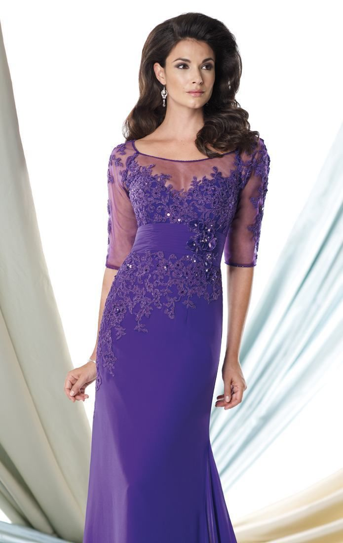 Chiffon Mother Of The Bride Dresses Lady Formal Evening ... Mother