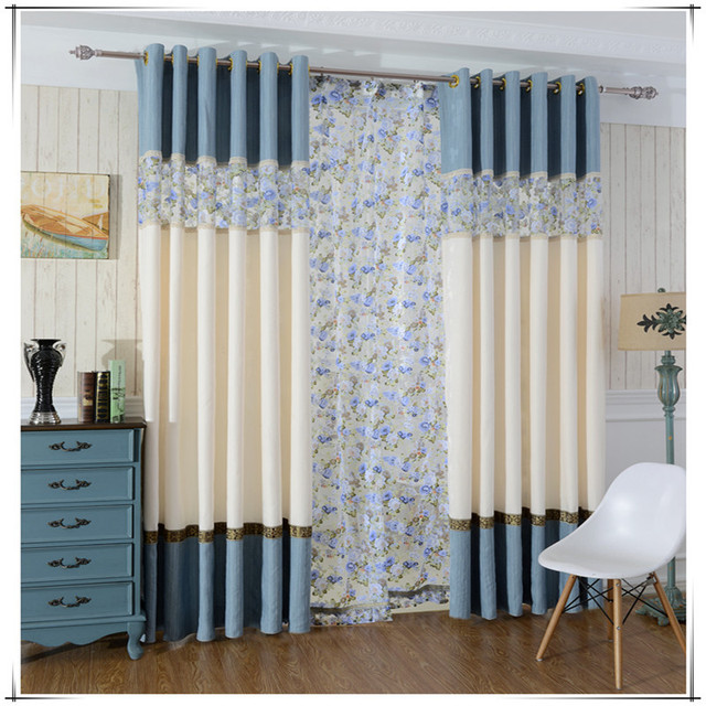 New Fashion Curtains Drapes Modern Simple Curtains For Living Room Window  Treatments Joint Curtains Cortinas Para Part 78