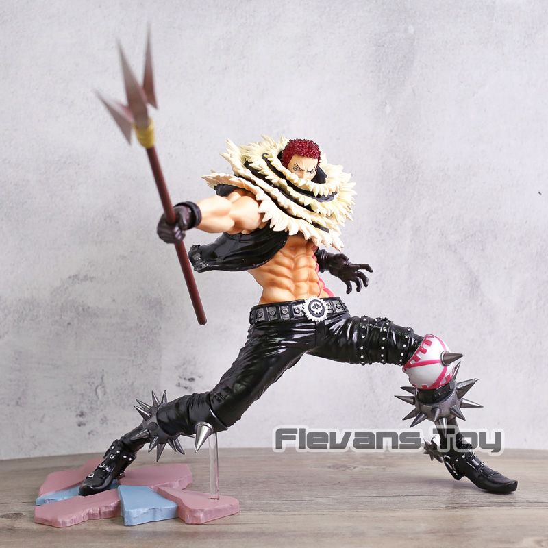 все цены на Anime One Piece Charlotte Katakuri SA-MAXIMUM Action Figure Toy Doll Figurine POP Model Gift