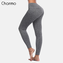 Charmo Women Yoga Pants Slim High Waist Sports Sport Wear Fitness Gym Legging Running Tights