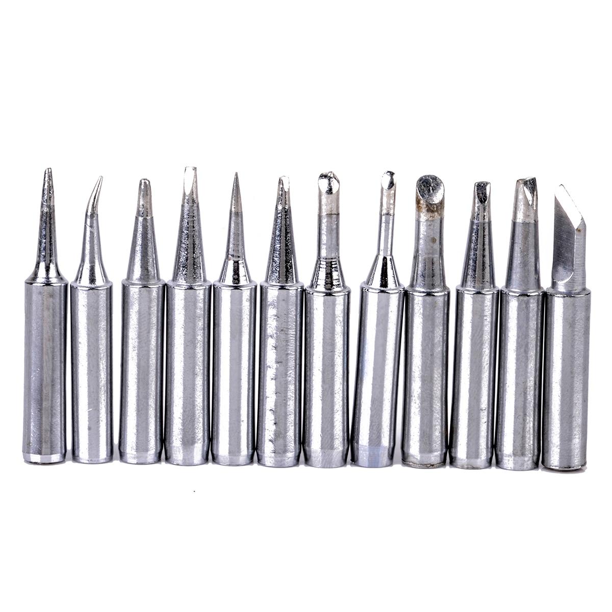 12pcs Soldering TIP Iron Tips 900M-T for Hakko936//937//928 Soldering Station tool