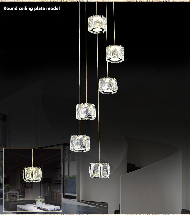 2017 New modern fashion crystal chandelier for restaurant dining room decoration