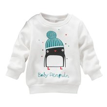 Oblečení pro miminka – krásná mikina s tučňákem