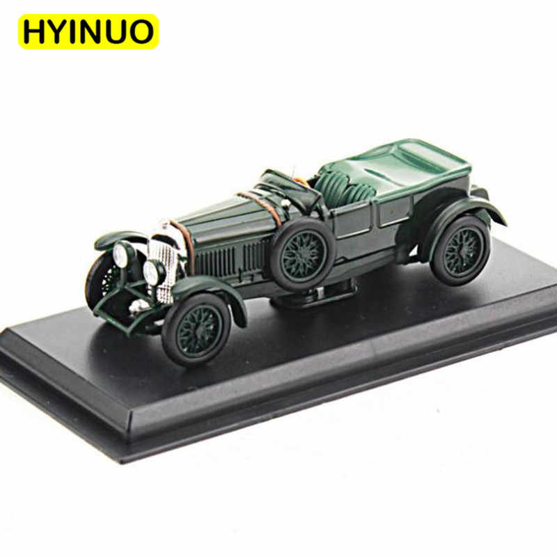 1:43 Scale Metal Alloy Classic Speed Six-1926 Racing Rally Car Model Diecast Vehicles Toys For Collection Display