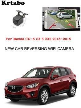 Car wireless rear camera For Mazda CX-5 CX 5 CX5 2013~2015 car Night Vision HD camera CCD night vision waterproof high qualit
