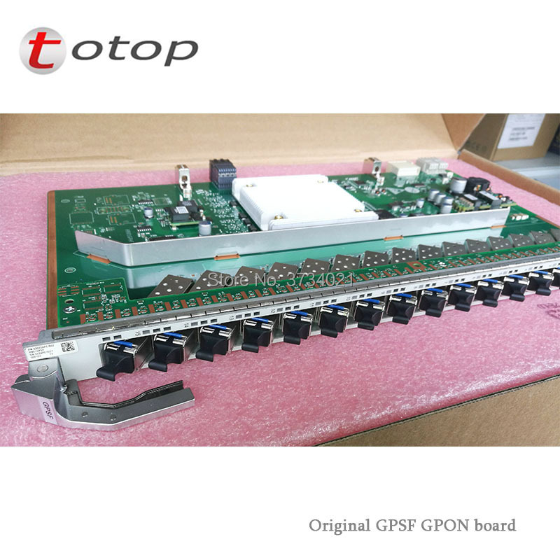 Huawei 16 ports H901 GPSF GPON Board With 16pcs C+ Modules Interface BoardHuawei 16 ports H901 GPSF GPON Board With 16pcs C+ Modules Interface Board
