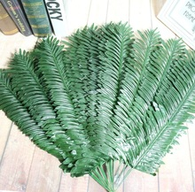20pcs Artificial Butterfly Palm Areca palm Leaves For Craft Wedding Bridal Bouquet Home Office Wreath Decoration