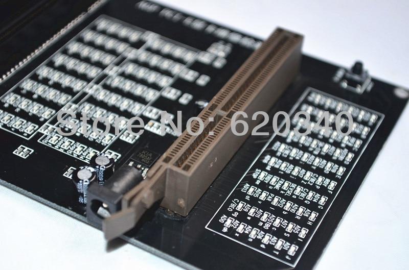 PC AGP PCI-E X16 double usage prise testeur affichage graphique carte vidéo vérificateur testeur carte graphique outil de diagnostic - 4