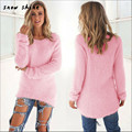 snowshine #3065 Womens Casual Solid Long Sleeve Jumper Sweaters Blouse free shipping