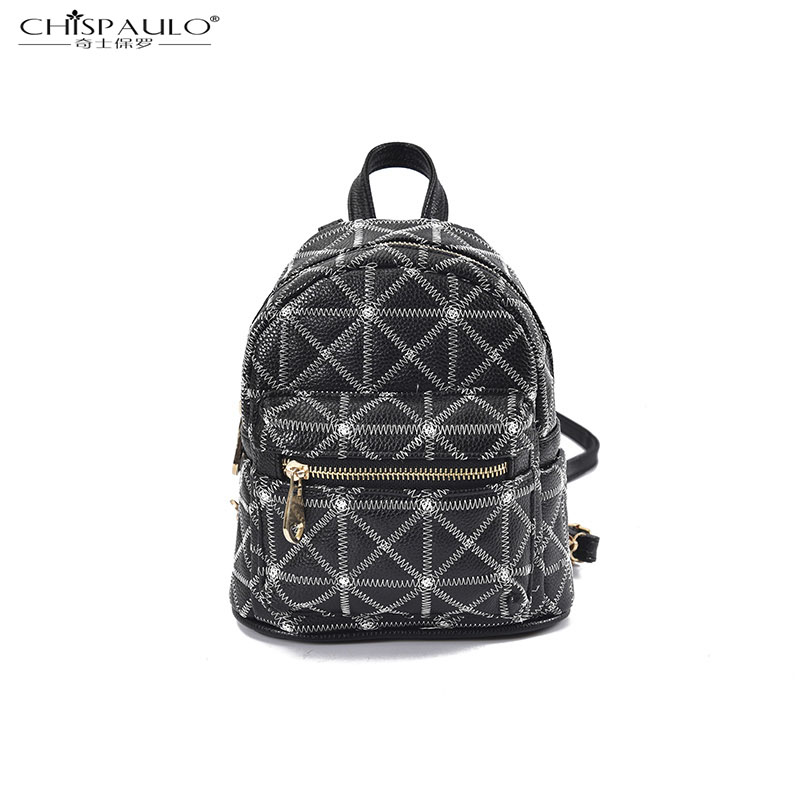 new Japan and South Korea fashion simple car suture geometric shoulder bag retro leisure double