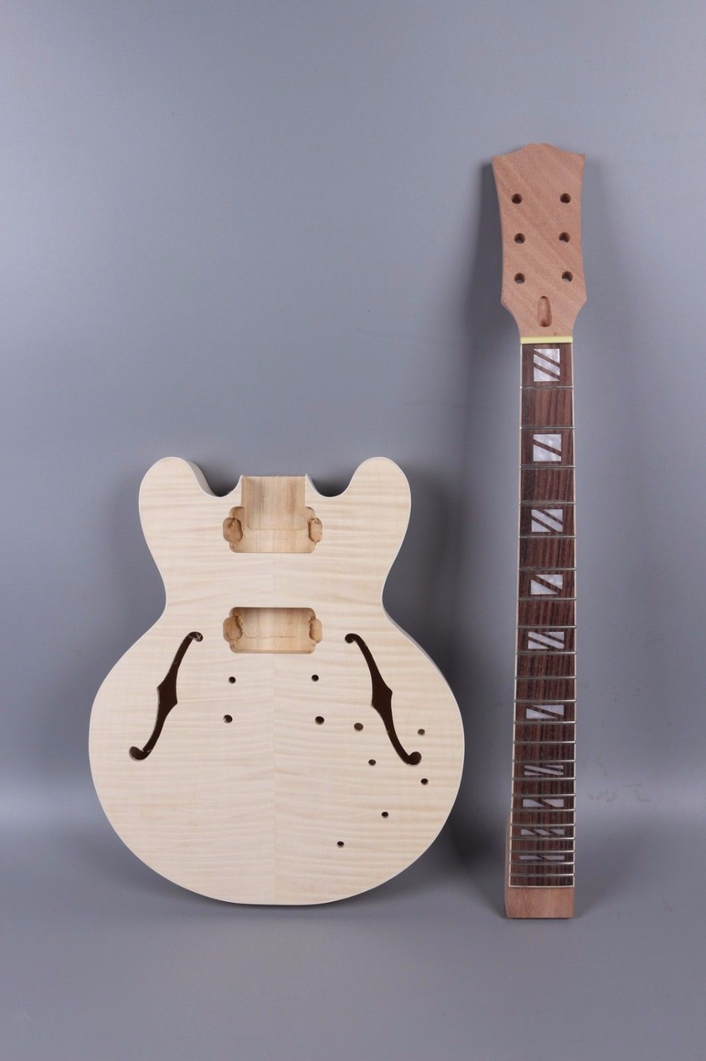 Yinfente SG Electric guitar body Unfinished Mahogany One-piece wood Made Bolt On one 21 unfinished electric guitar body mahogany made