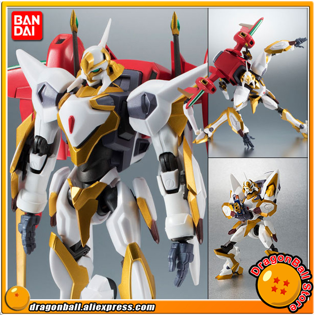 Code Geass: Lelouch of the Rebellion Original BANDAI Tamashii Nations Robot Spirits 223 Action Figure - Lancelot Air Cavalry the original 2mbi200l 060 code package machine disassemble
