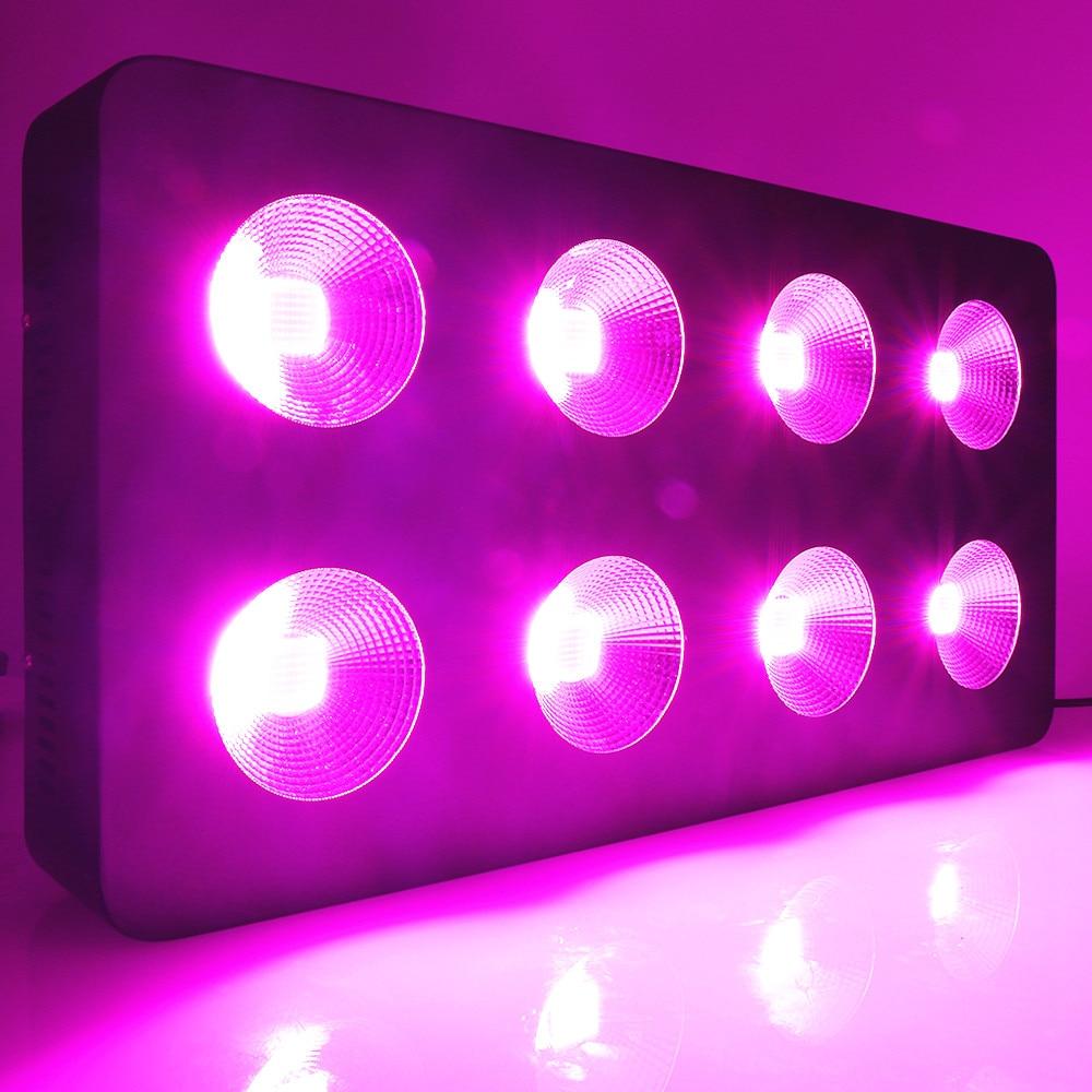 500W/1000W/1500W/2000W COB LED Grow Light Full Spectrum For Indoor Greenhouse Hydroponics Flowers Medical Grow Tent LED Light