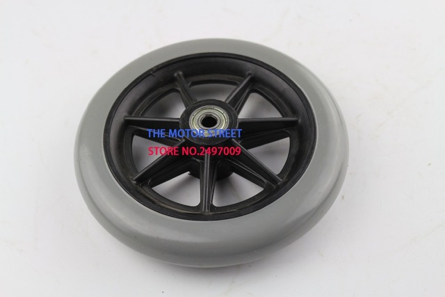 Ruedas libres shopping150mm 6 pulgadas 2 piezas ruedas delanteras para silla de ruedas manual, ruedas giratorias