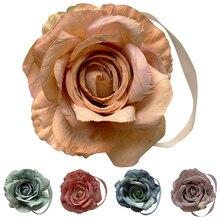Лучший!  1 шт. Цветочный Магнит Шторы Tieback Магнитные Шторы Пряжка Держатель Пузырь ткани цветок Занавес