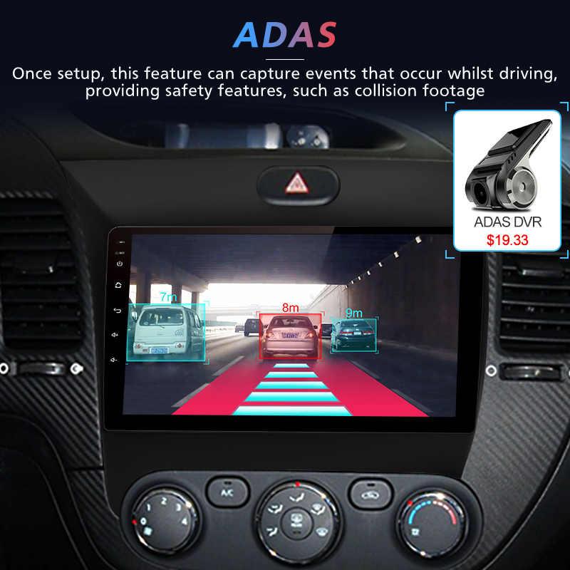 Junsun V1 2G + 32G Android 9.0 DSP untuk Kia Cerato K3 2013 2014 2015 Mobil Radio Multimedia video Player Navigasi GPS RDS 2 DIN DVD