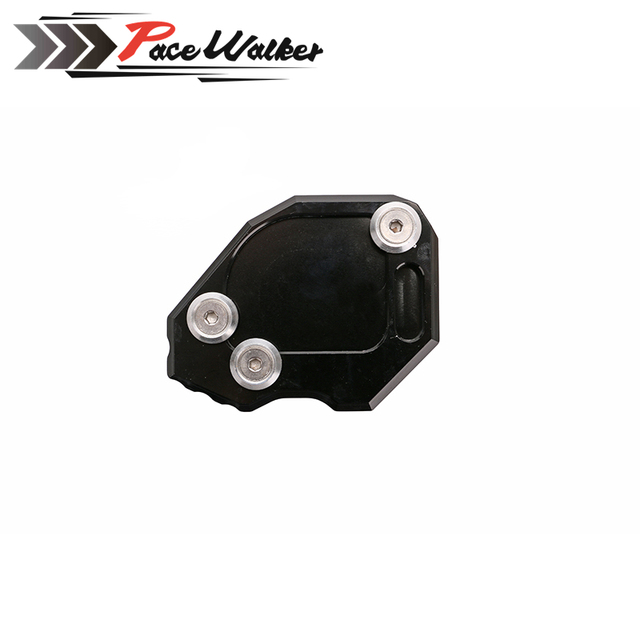 Soporte de pie Lado de extensión de la placa de soporte para BMW GS F800 2008, 2009, 2010, 2011, 2012, 2013, 2014, 2015