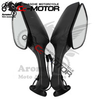 2011 2012 2013 2014 2015 year turn signal motorcycle parts with flaser LED moto side mirror for Kawasaki ZX 10R rearview mirror