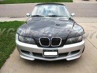 Car Accessories Carbon Fiber MT Style Hood Cover Fit For 1996 2002 BMW Z3 Hood Bonnet Car styling