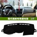 Car dashboard covers Instrument platform pad  for Hyundai  Accent Blue WIT  Hyundai Solaris  Verna I25 MC RB 2005 2011 2015