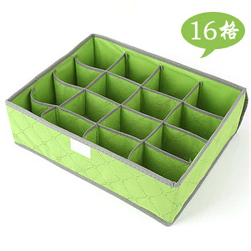 Underwear Bra Organizer Storage Box 7/16/24 grids Drawer Closet Organizers Boxes For Underwear Scarfs Socks Bra