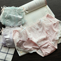 Princess sweet lolita Day single sweet fresh water soluble lace Cotton women triangle DK98