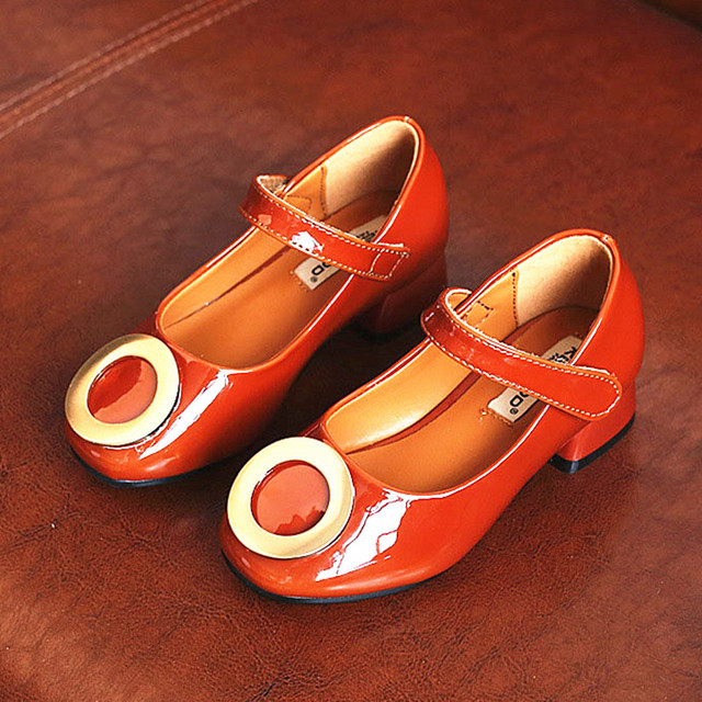 f069b15ad WENDYWU children fashion heeled shoes for toddler brand pu leather mary  jane baby girl brand party