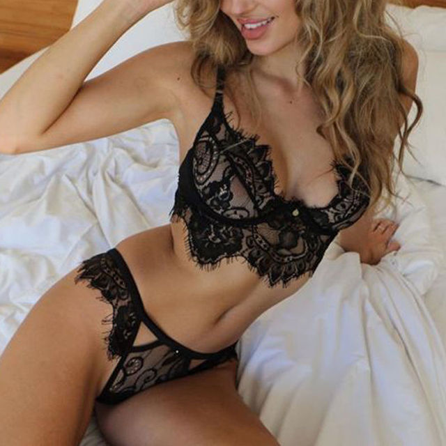 Hot Lingerie Lace Bra + Panty
