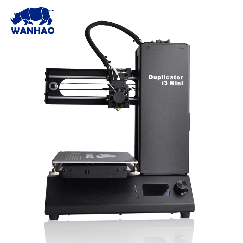 2017 Wanhao New Version FDM 3D Printer. Wanhao Duplicator i3 Mini 3D Printer, DIY & Desktop Wanhao 3D Printer With Cheaper Price 2018 new upgrade wanhao i3 plus 2 0 wanhao i3 plus mk2 reprap developer prusa wanhao 3d printer with touch screen auto level
