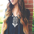 2016 New Fashion Gypsy Bohemian Jewelry Ancient Silver Coin Tassel Necklace Female Long Carving Fine Jewelry Wholesale