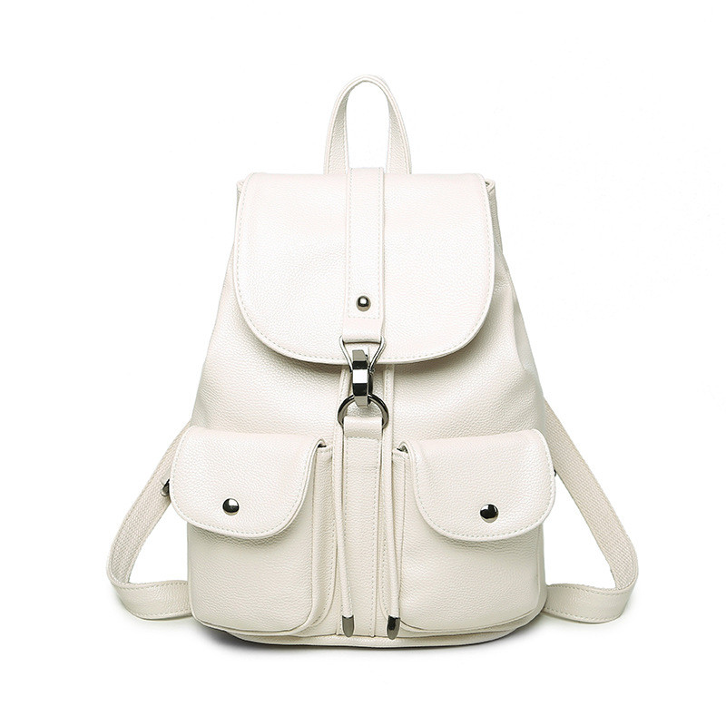 PU Leather Women Backpack Summer New College Wind Schoolbag Fashion Tidal Leisure Travel Bag Boutique Backpack