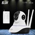 BW CCTV HD Câmera IP Sem Fio 720 P + Alarme De Sensor De Movimento Infravermelho 3.6mm Endoscópio Câmera De Segurança Wi-fi Móvel Controle remoto
