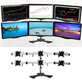 Universal splicing six-screen desktop display stand rack desktop LCD monitor stand for Wagner stock