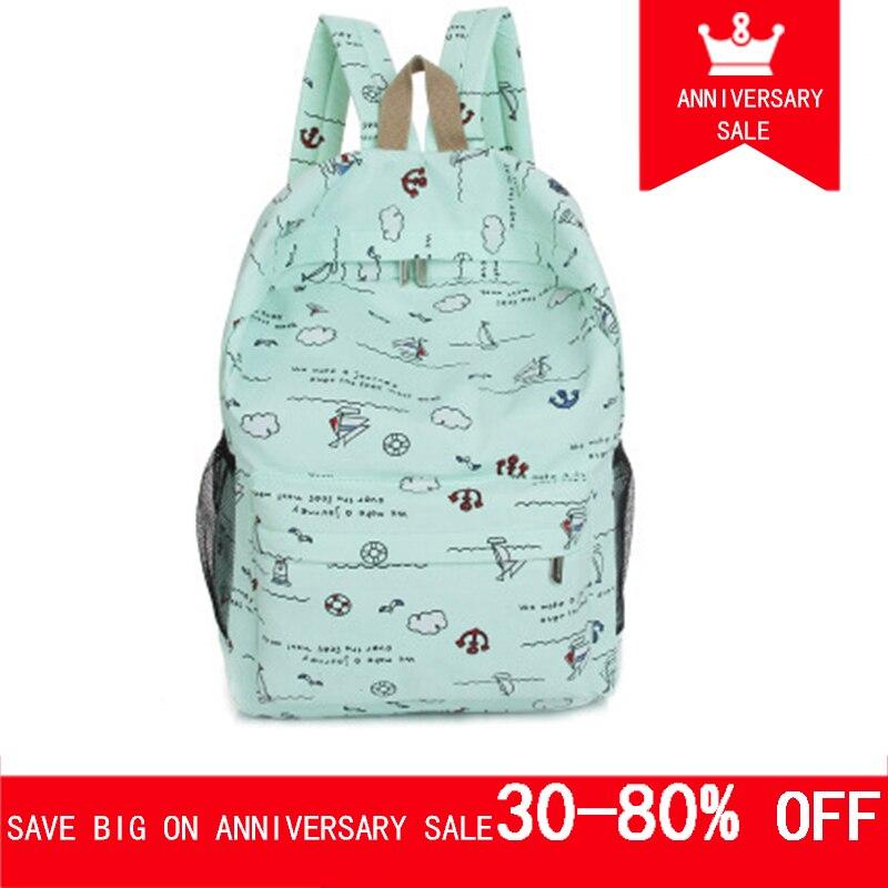3214ffc032cb Imentha 2018 women bagpack back pack woman bags female sac a dos femme  rucksacks printing backpack School bags for teenage girls