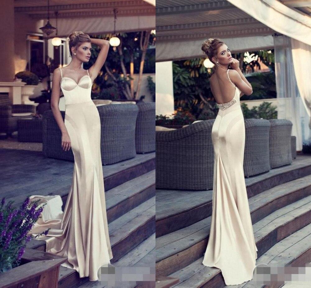 Bm сексуальная пятно шампанское вечерние платья знаменитостей спинки ну вечеринку Nurit курица длинные платья выпускного вечера бальные платья вечернее платье Vestidos