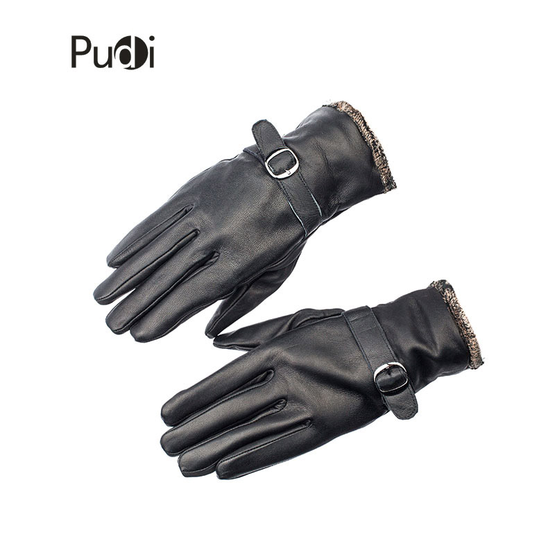 Guantes de cuero genuino GL7002 para hombre, guantes de cuero de - Accesorios para la ropa - foto 2