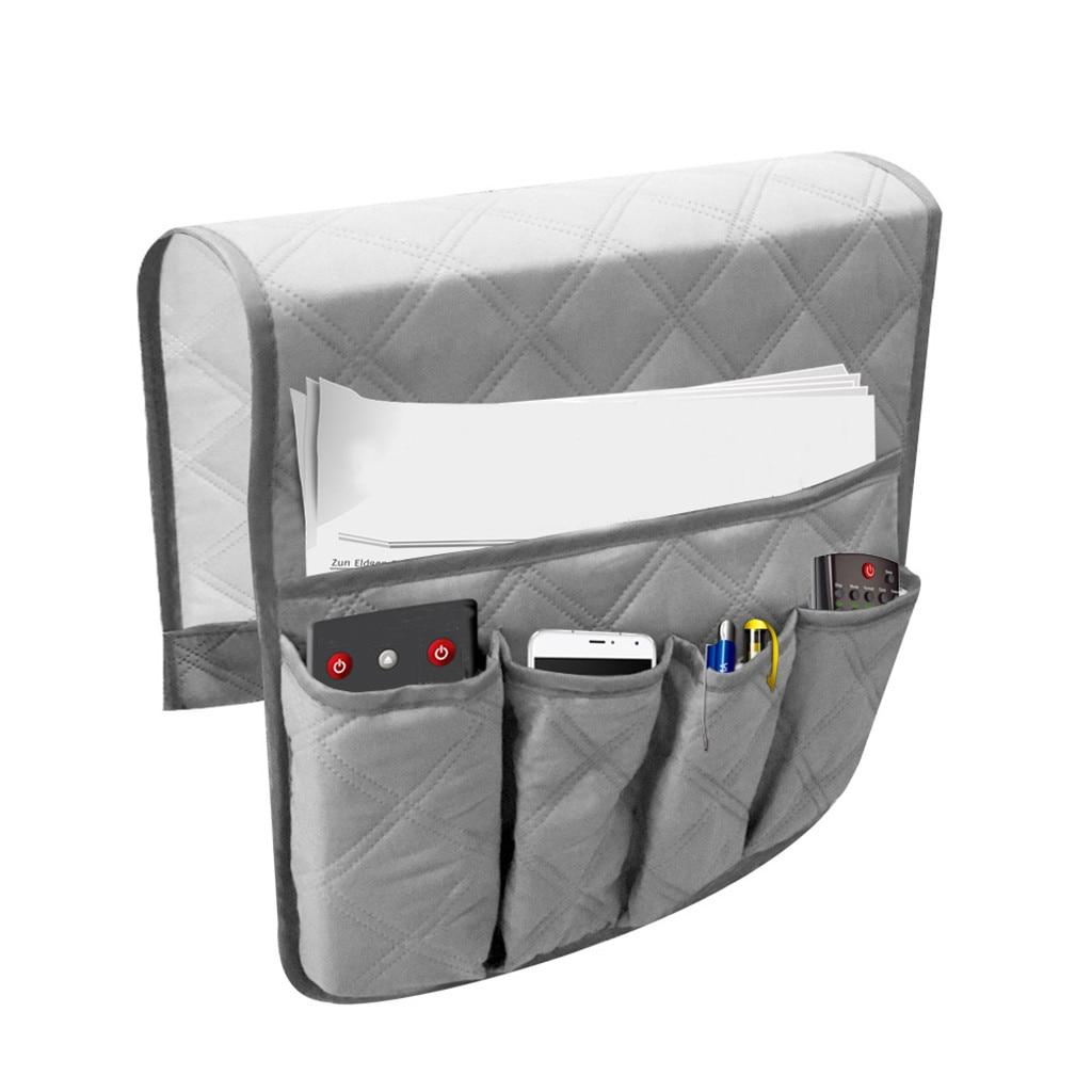 Remote Control Holder Arm Rest Pocket