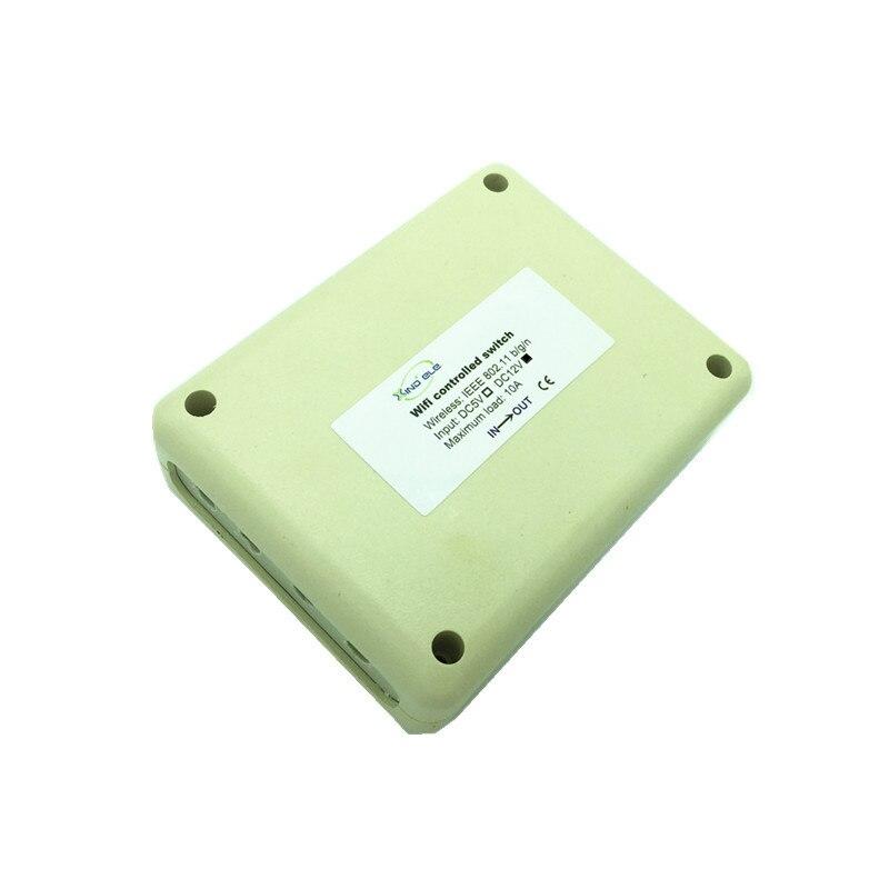 все цены на WiFi Switch Wireless 4CH 12V DC wi-fi Interruptor Controlled by Smartphone APP Wireless Remote Control Light Switches онлайн