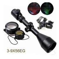 Tactical 3 9x56EG Red Green Air Rifle Gun Optics Hunting Scope Sight